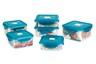 Nano Silver Airtight Container -Square 430ml (PG1450)