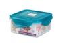 納米銀保鮮盒 -正方形 600ml (PG1451)