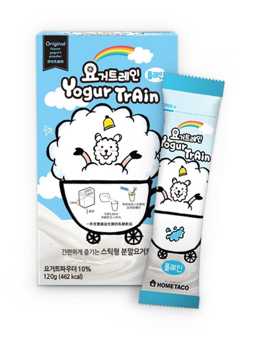 1 box Korean Instant Original Flavor Yogurt Powder with probiotics 6 sachet x 20g