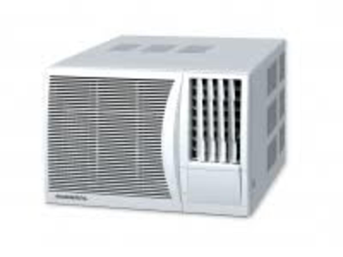 AK917FNR 1HP Window type Air Conditioner  Hong Kong Warranty Genuine Products