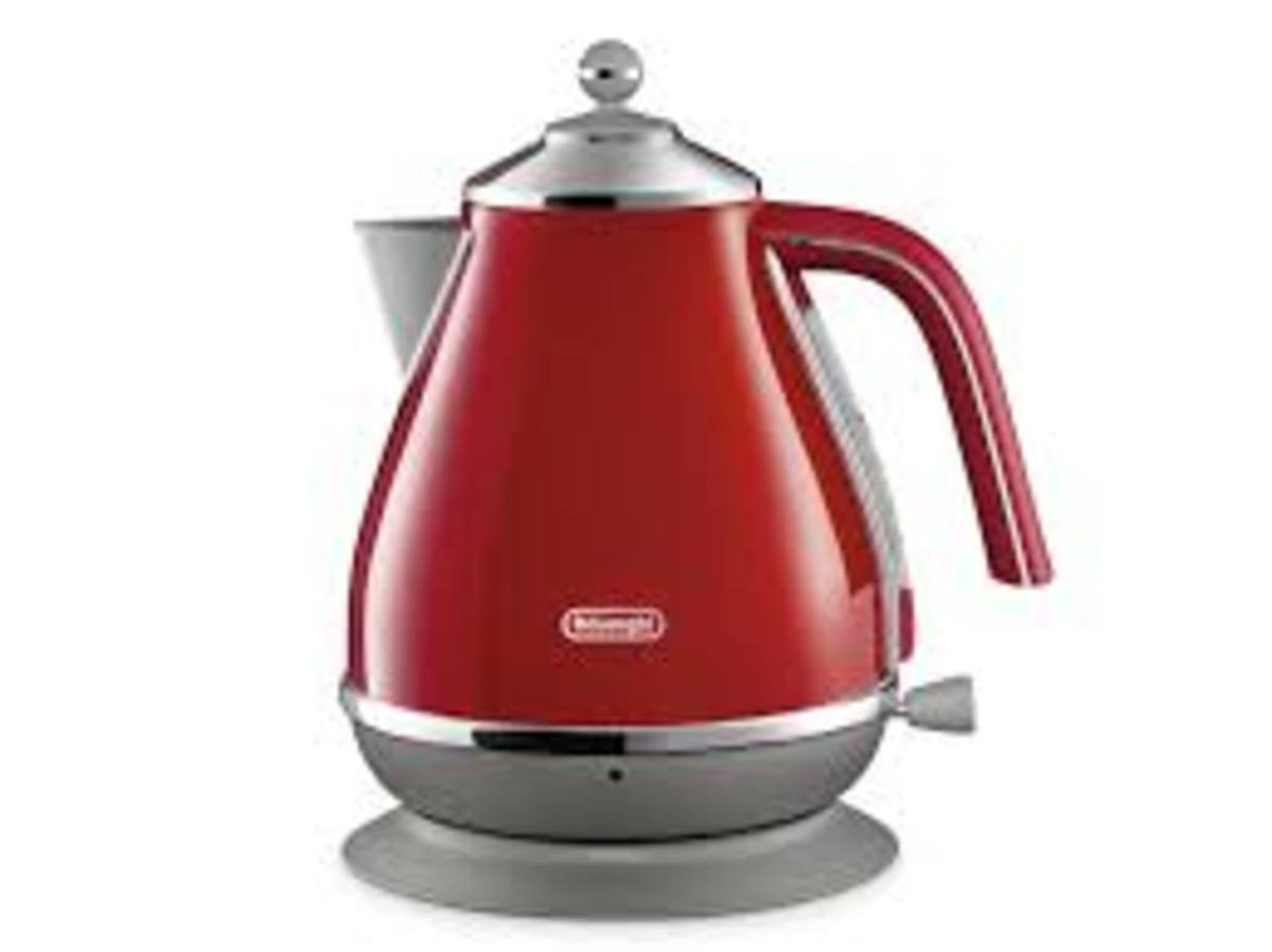 KBOC3001.R  De'Longhi Icona Capitals Series Water Kettle  Hong Kong Warranty Genuine Products