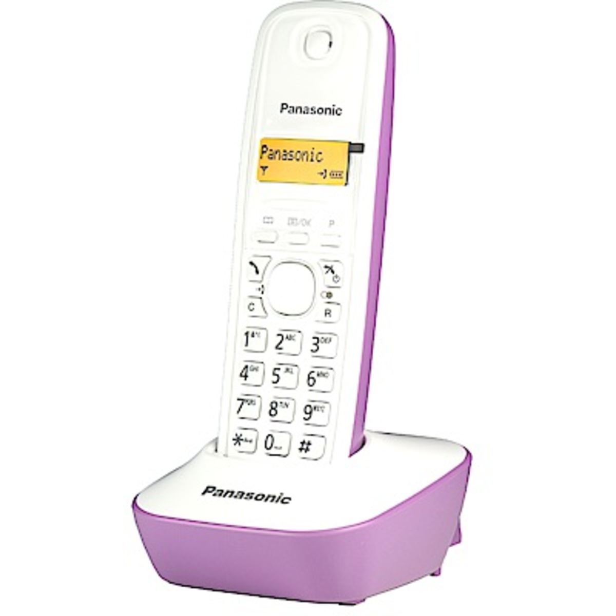 KX-TG1611HK Purple DECT Phone Purple Hong Kong Warranty Genuine Products