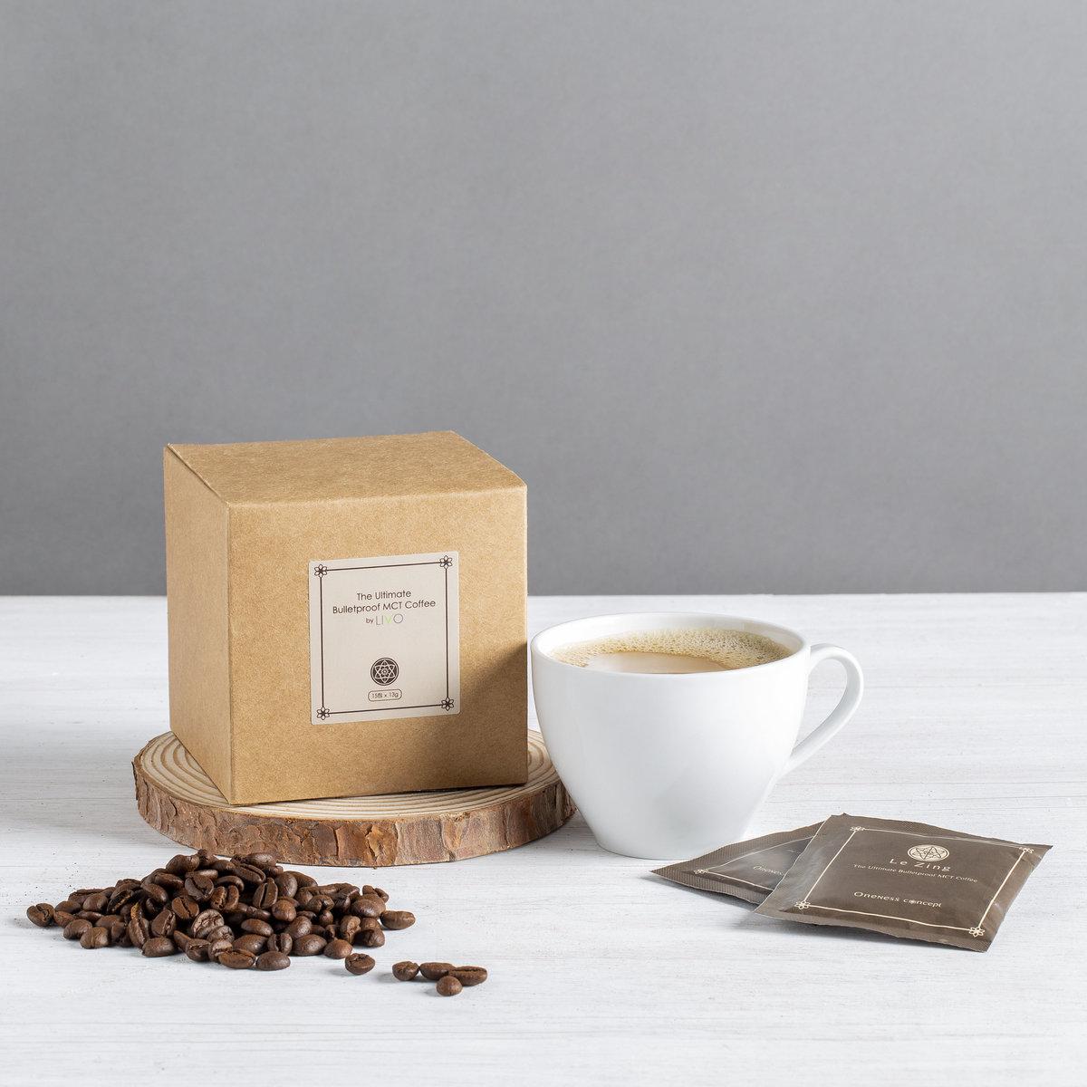 The Ultimate Bulletproof Coffee (15packs, 2 in 1 instant)