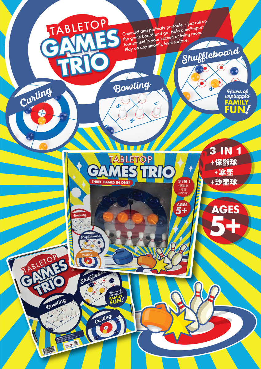 Table Top Games Trio