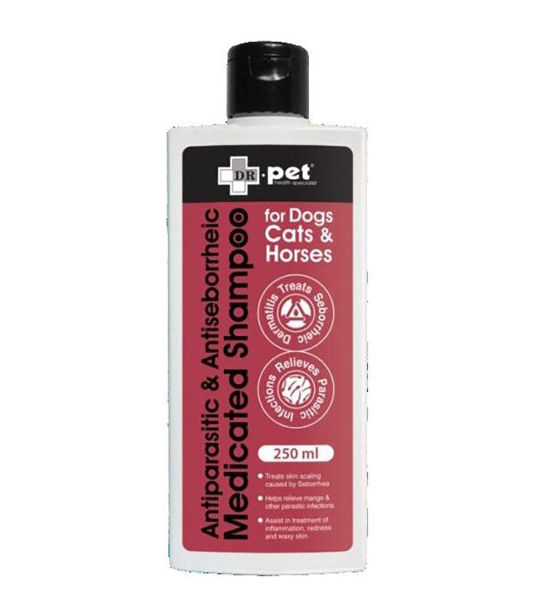 Antiparasitic & Antiseborrheic Medicated Shampoo 250ml [exp:2020-12]