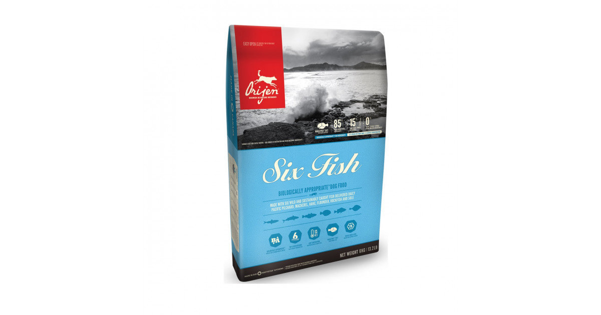 Canada Six Fish Dog Food 11.4kg