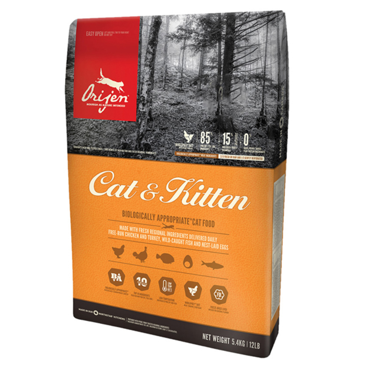 Canada Delivers Cat & Kitten Cat Food 5.4kg