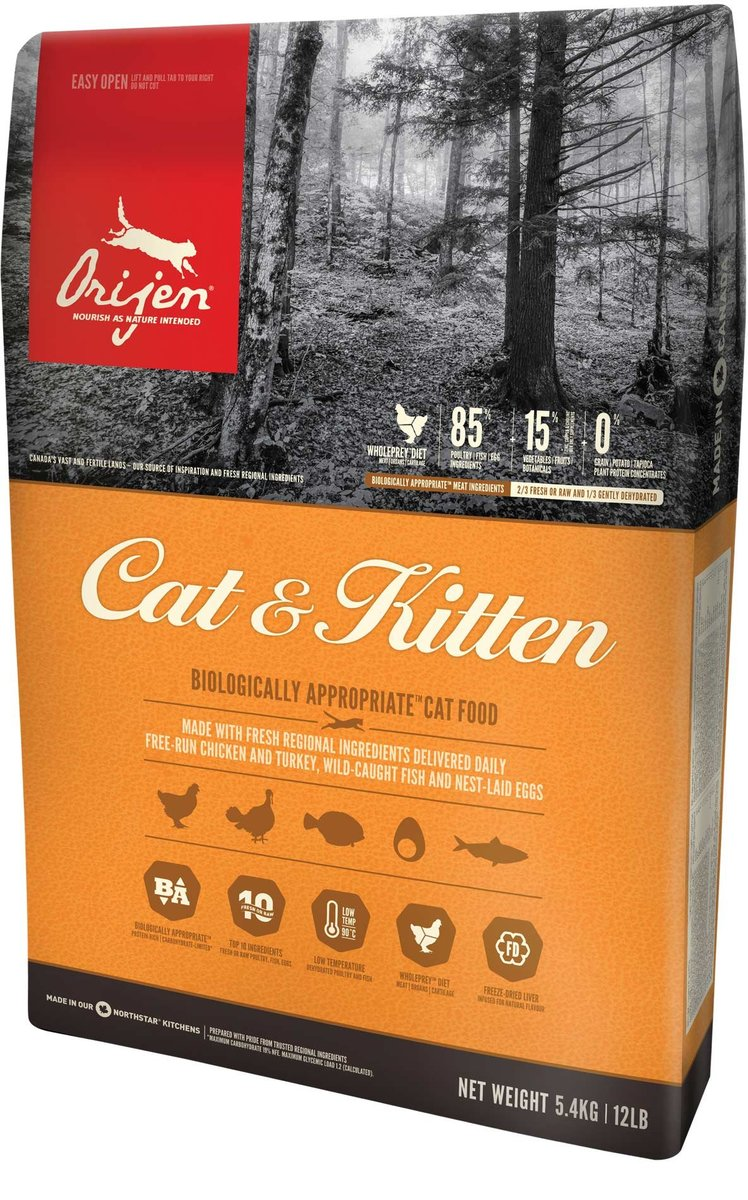 Canada Delivers Cat & Kitten Cat Food 5.4kg