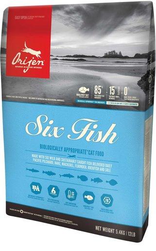 加拿大直送全貓六種魚糧 5.4kg