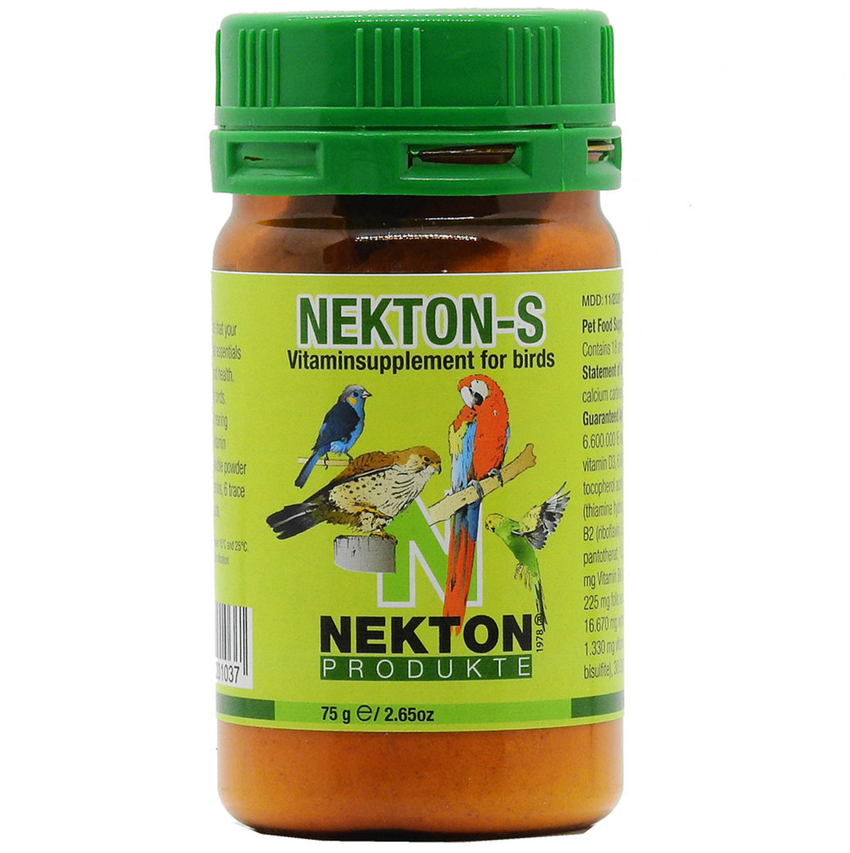 Nekton-S Vitaminsupplement for Birds 75g