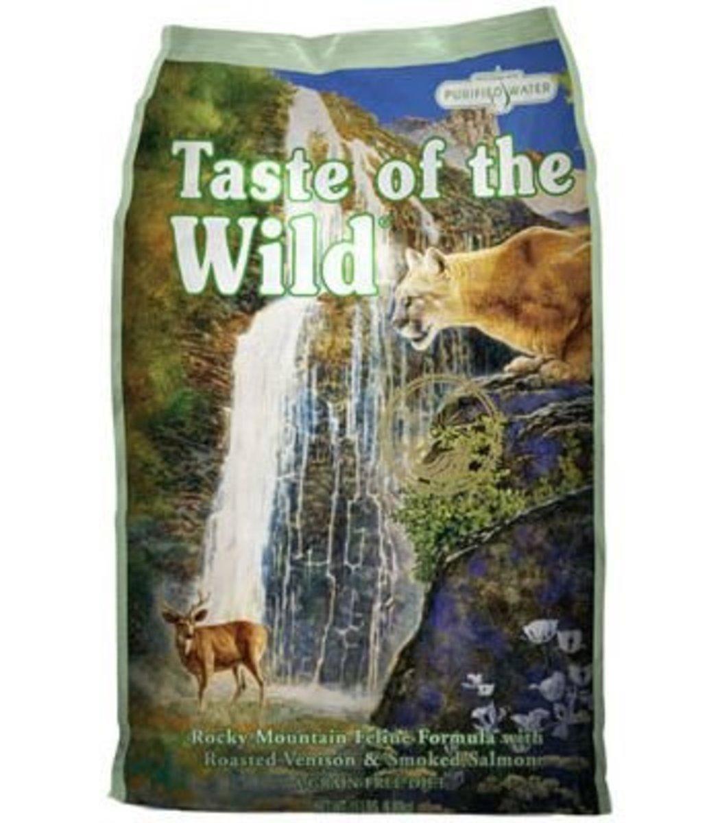 Rocky Mountain Feline Recipe with Roasted Venison & Smoked Salmon 5lb