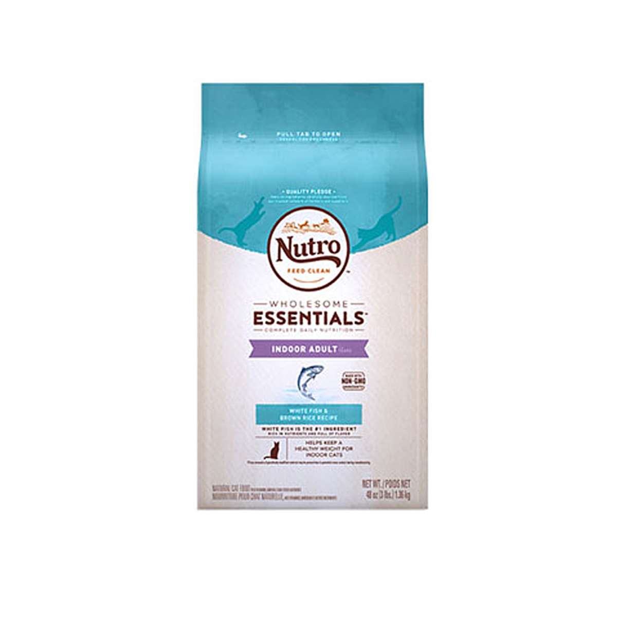 Nutro - Indoor Fish & Whole Brown Rice - 14lb
