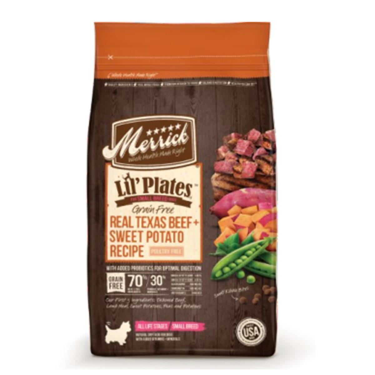 Lil'Plates Grain Free Real Texas Beef + Sweet Potato Recipe - 4lb