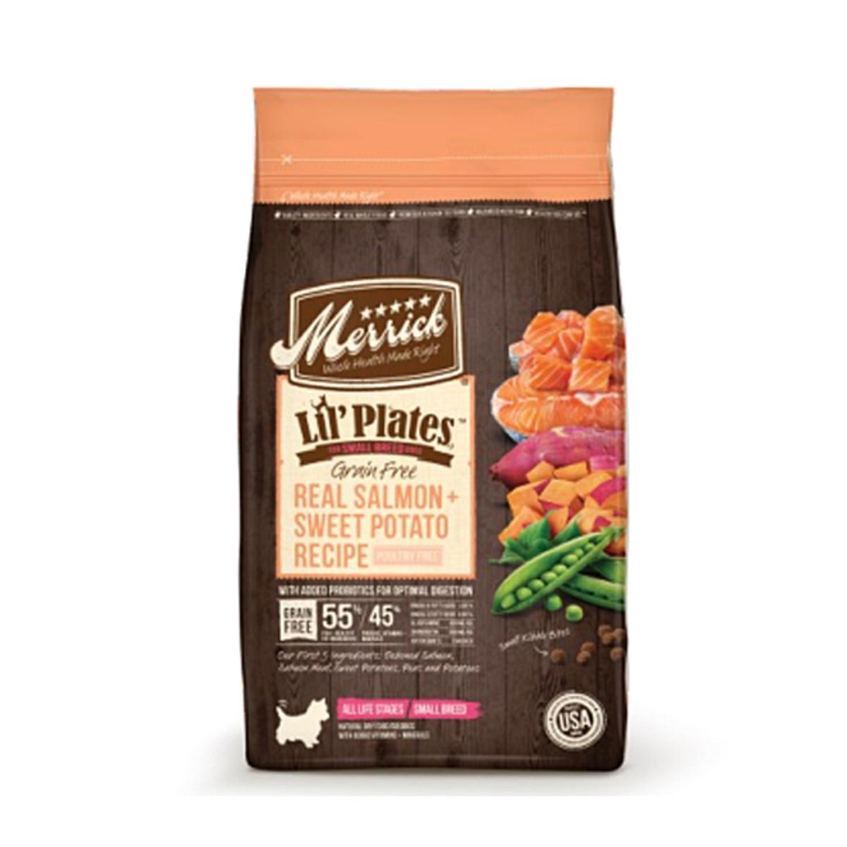 細細粒系列無穀物天然全犬糧 三文魚 + 甜薯配方 - 12lb