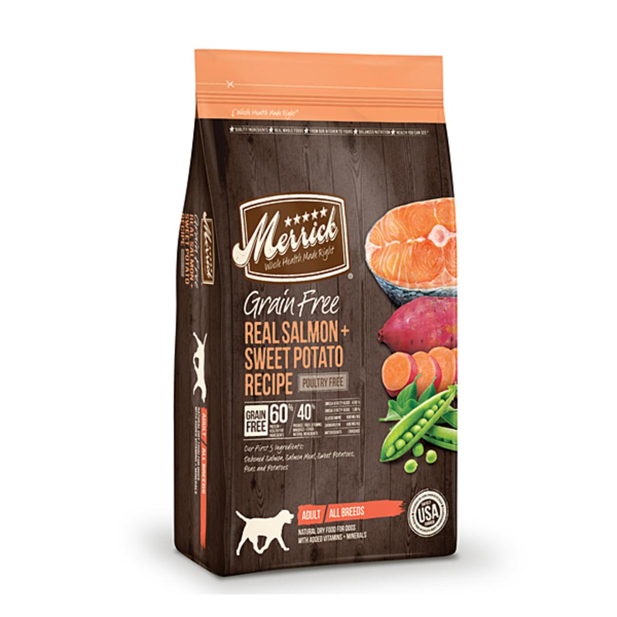 Grain Free Real Salmon & Sweet Potato Recipe - 12lb