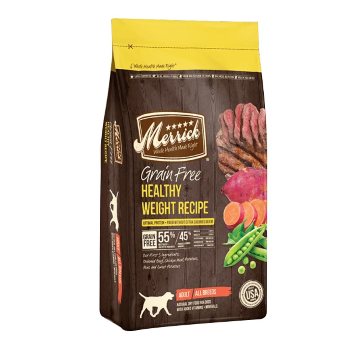 無穀物天然全犬糧 體重控制配方 - 25lb