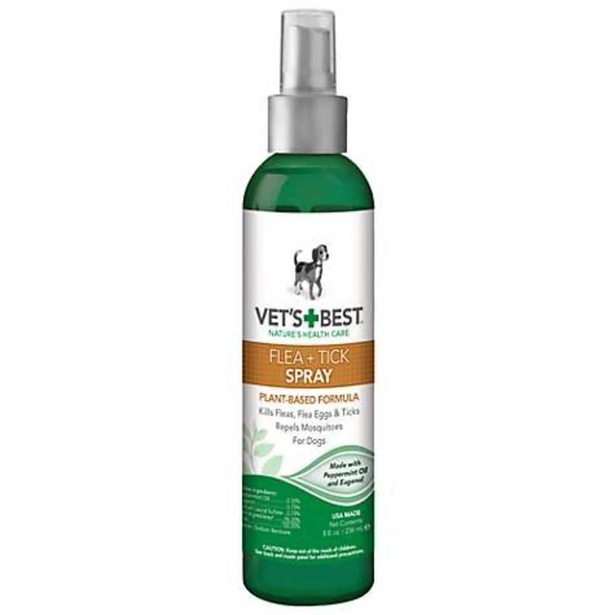 Flea & Tick Spray For Dogs 8oz