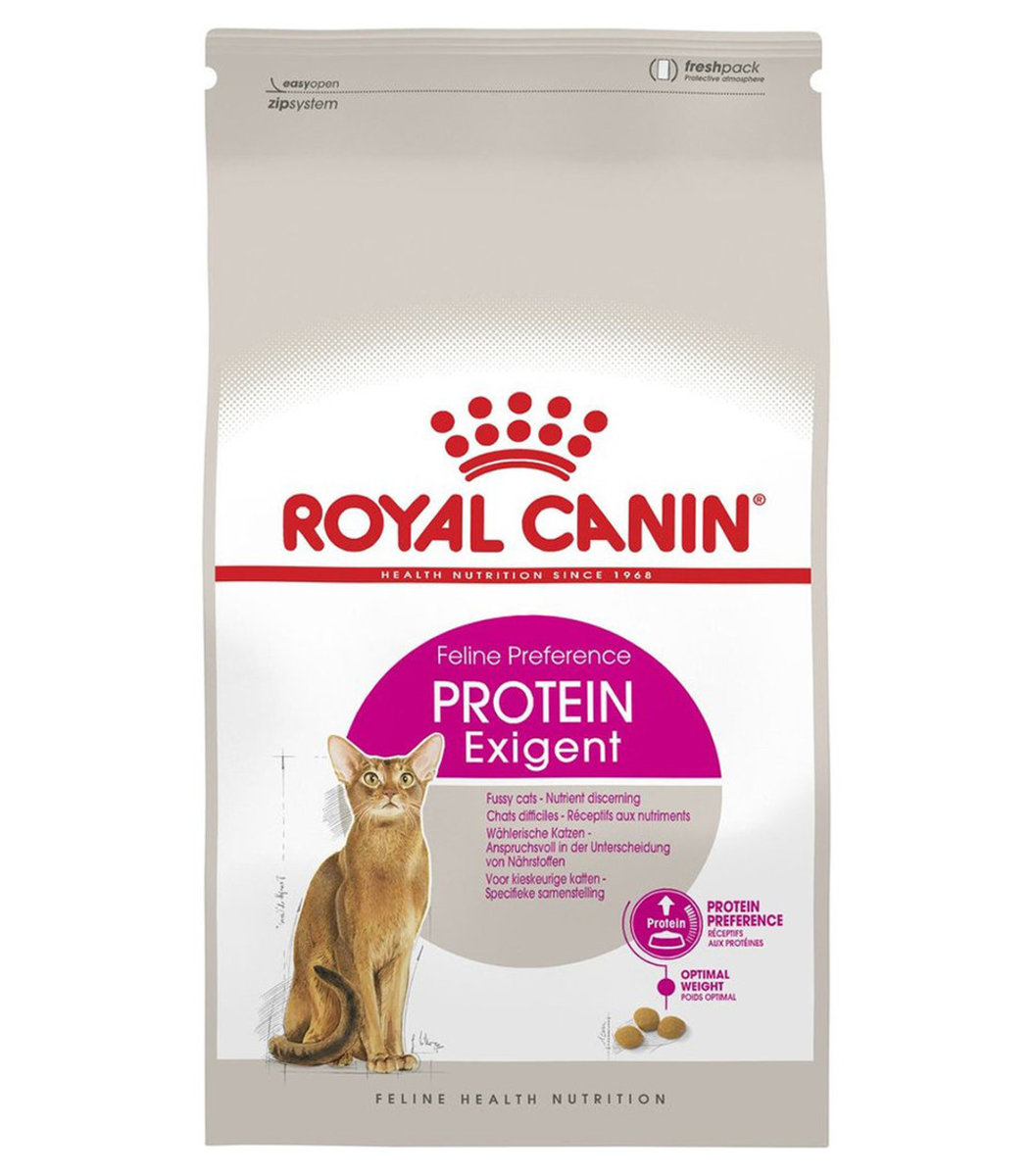 Feline Preference Protein Exigent Dry Adult Cat Food 4kg [exp:2020-11]