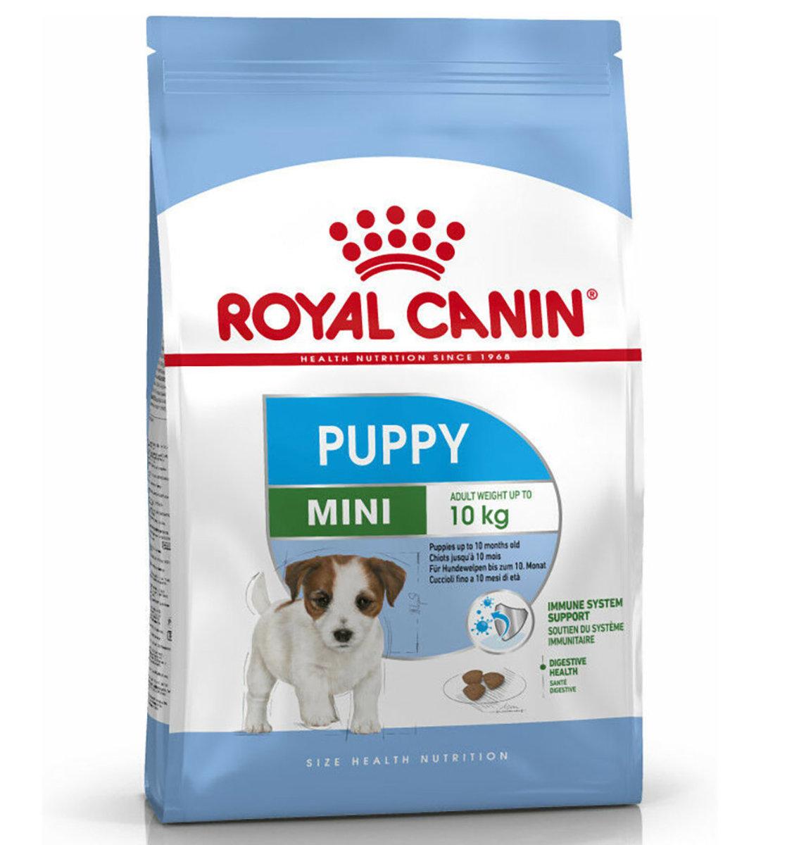 SHN 2-10month Mini Puppy Dry Dog Food 8kg