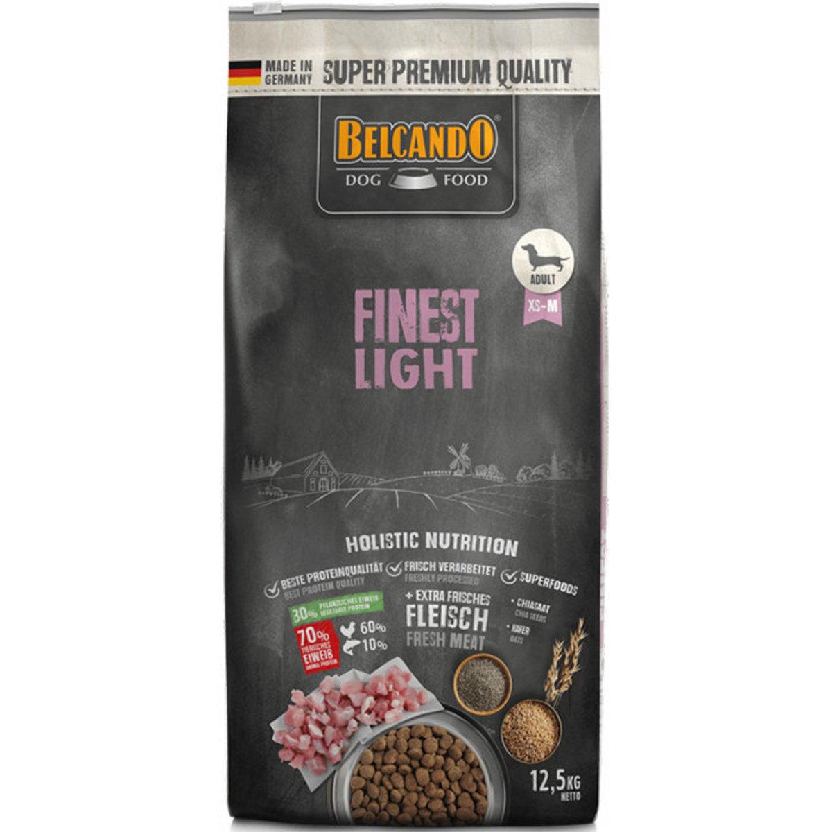 Finest Light Formula Dry Dog Food 12.5kg