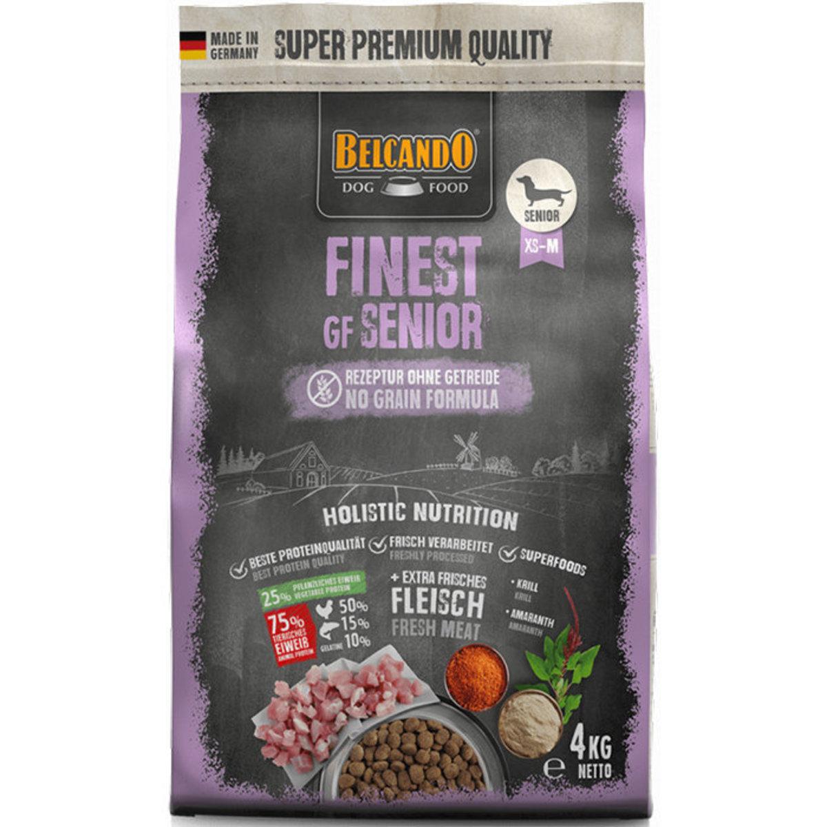 Finest Grain Free Senior Formula Dry Dog Food 4kg