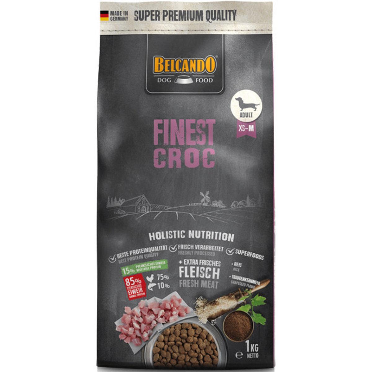 Finest Croc Formula Dry Dog Food 1kg