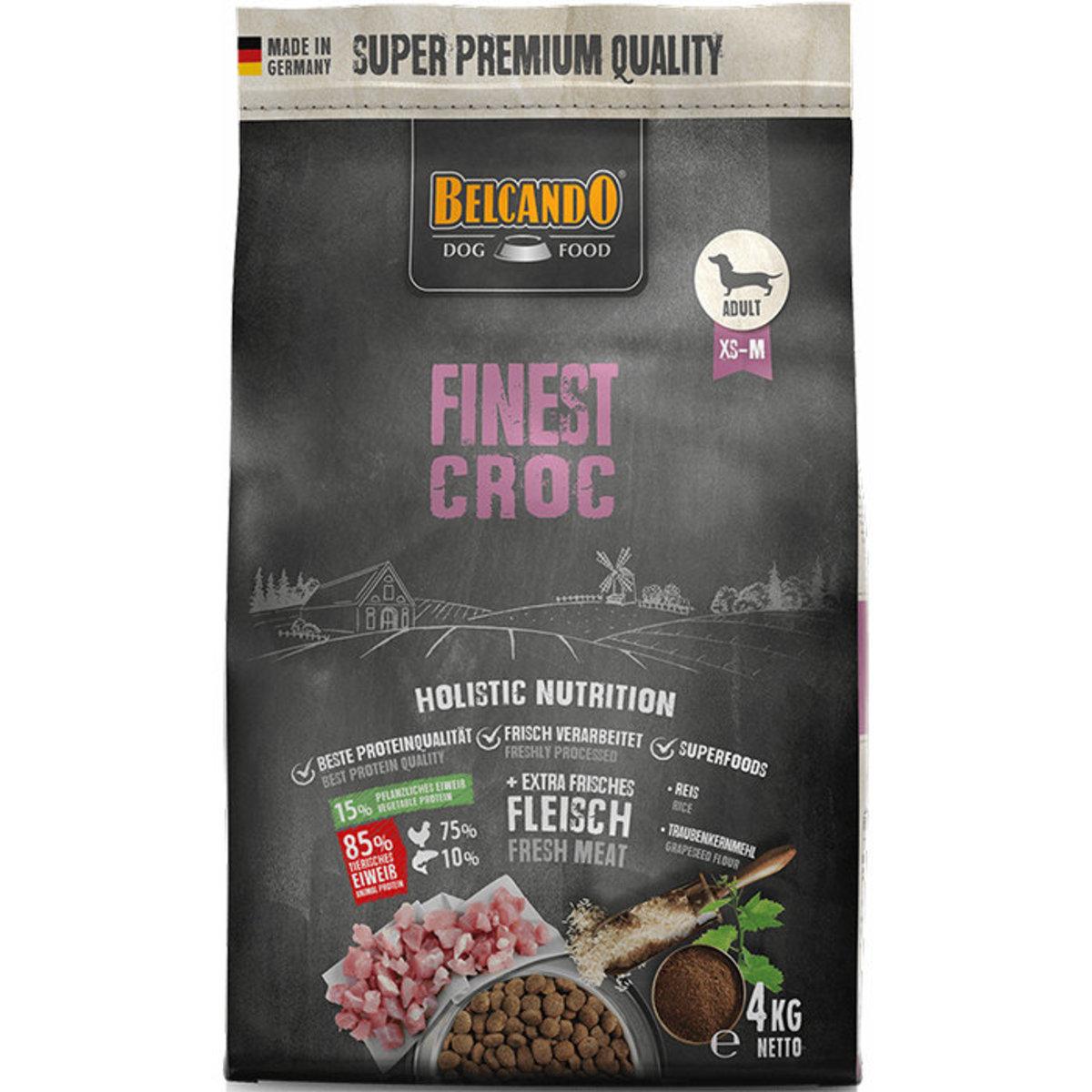 Finest Croc Formula Dry Dog Food 4kg