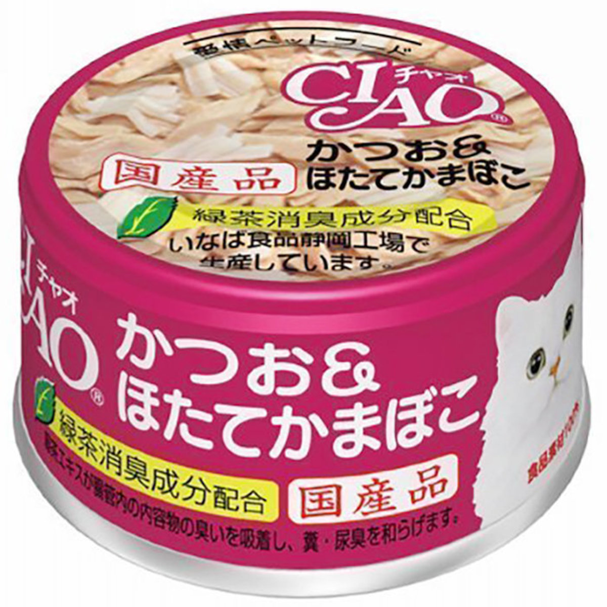 Canned Cat Ciao Bonito Scallop 85g