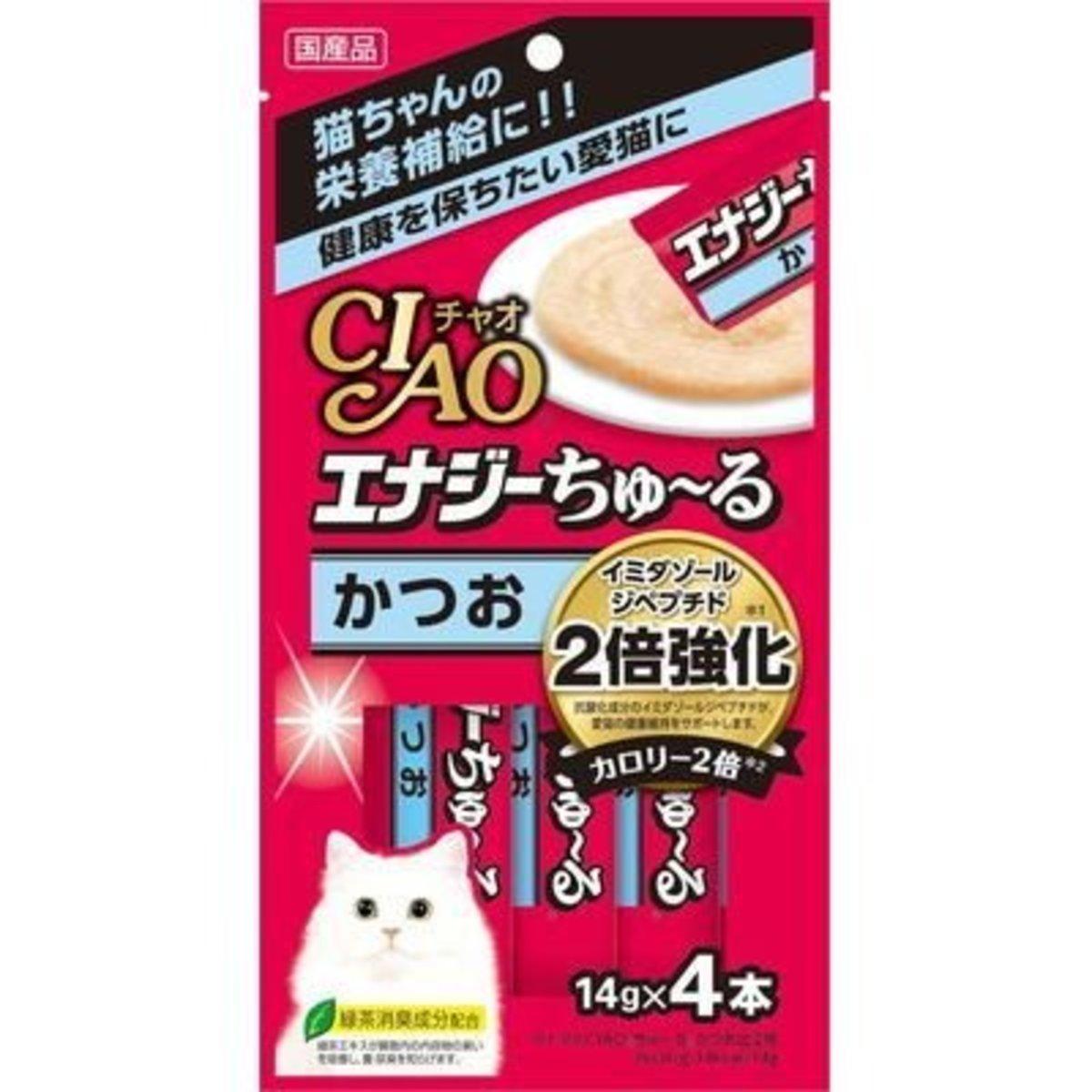 Churu Puree Lickable Cat Treat Sliced Bonito Chicken 14g x4p