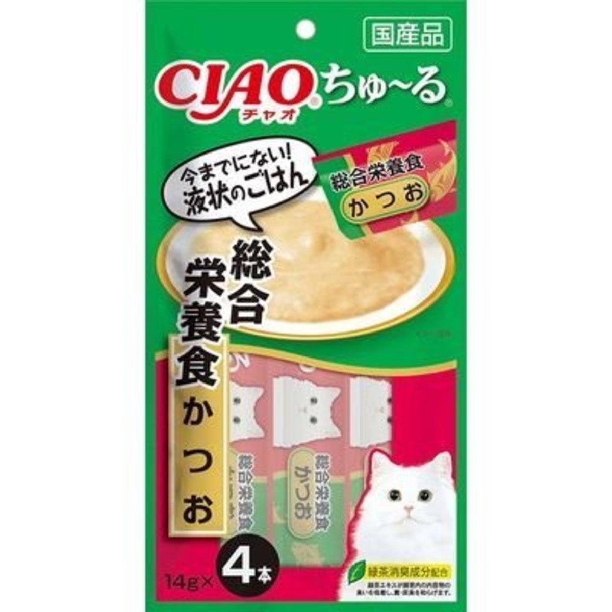 貓貓CIAO醬包-鰹魚 14g x4本