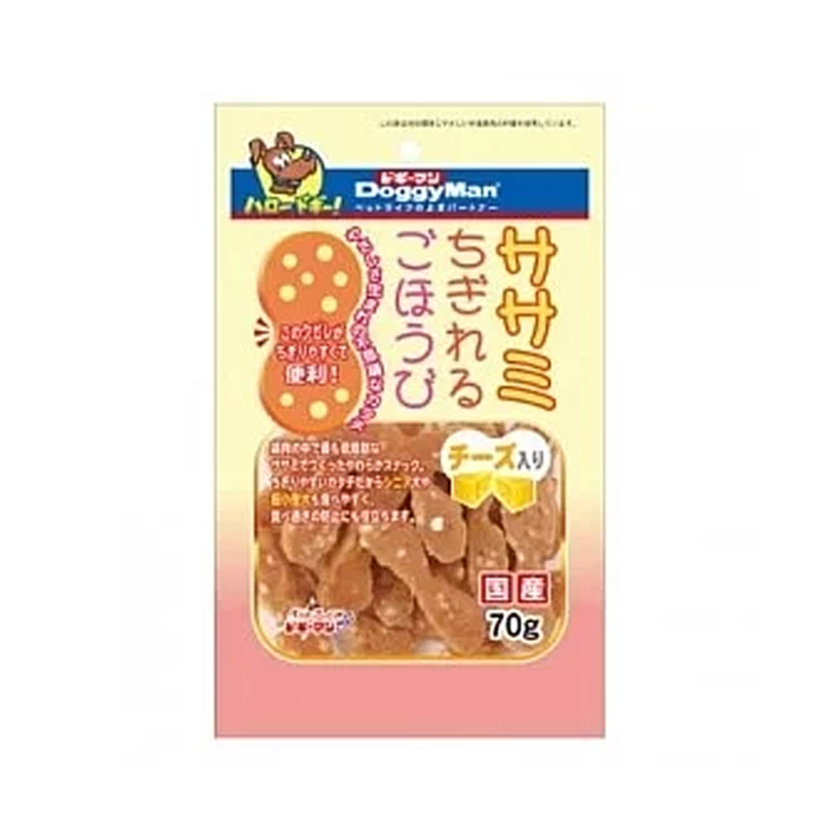Cheese&Chicken Snack for Dog - 70g