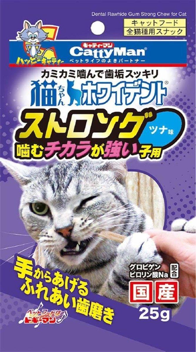 貓用吞拿魚味潔齒骨 25g