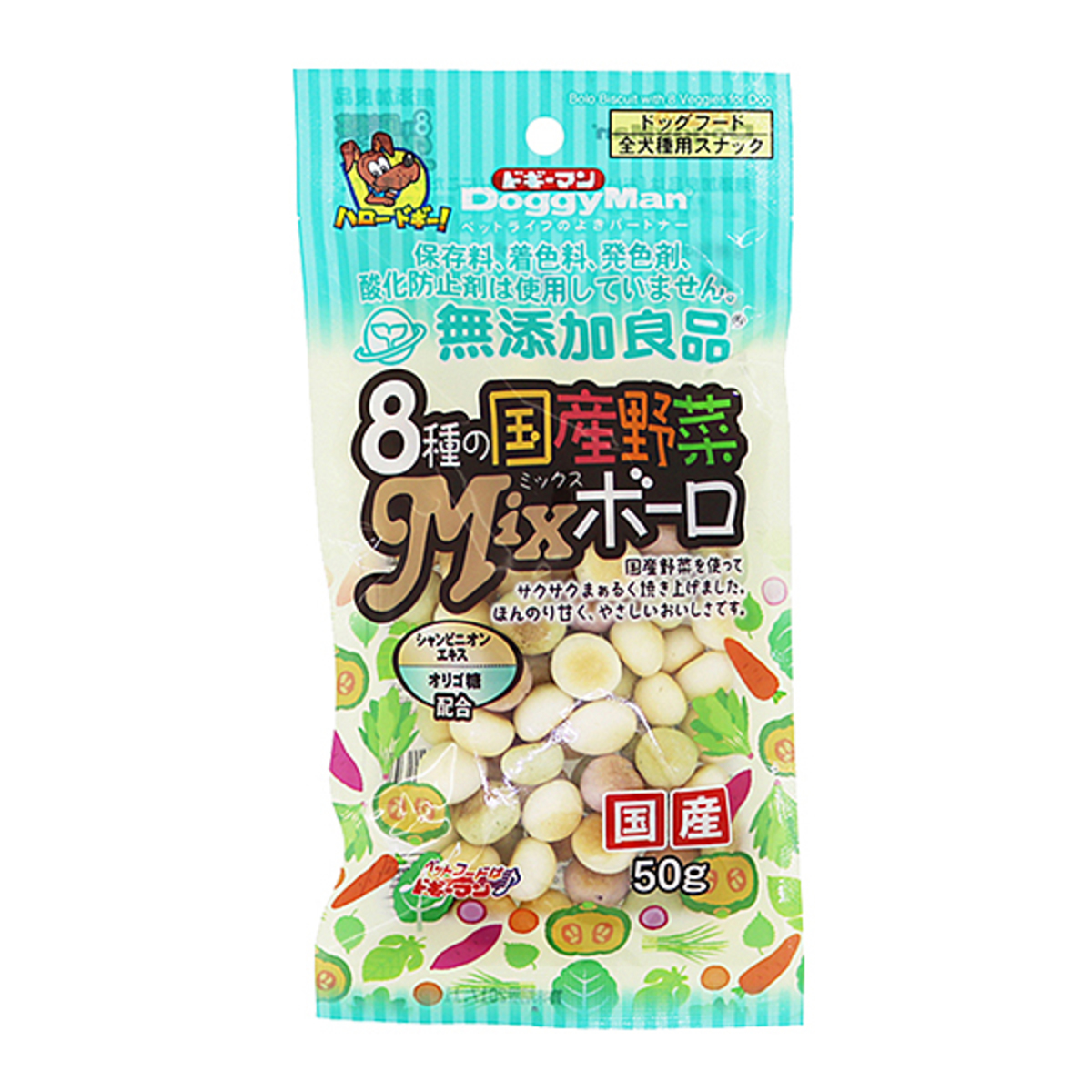 8種野菜水泡餅 - 160g