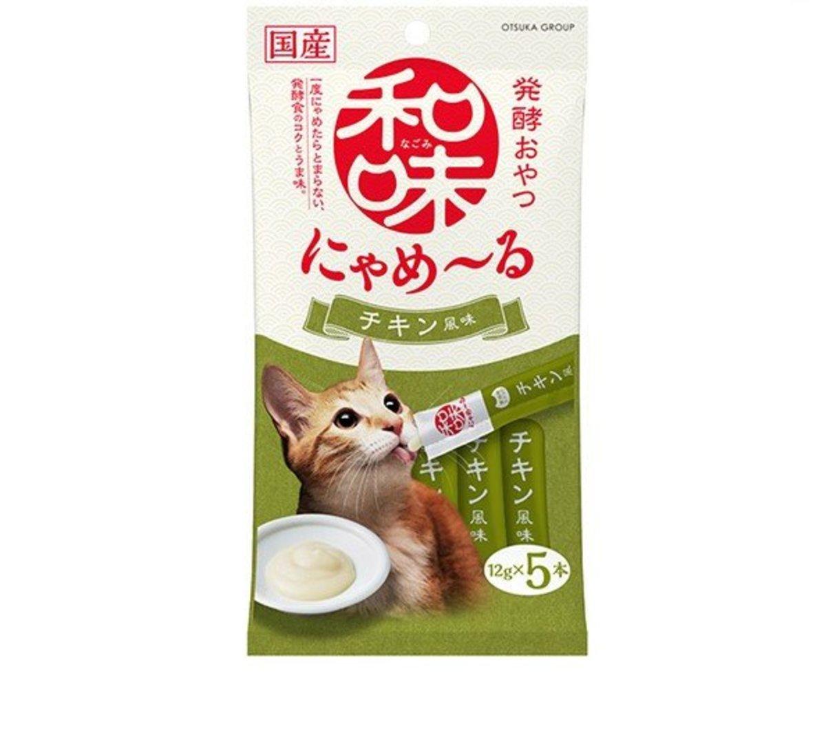 Taste Chicken Sauce Cat Snack 12gx5
