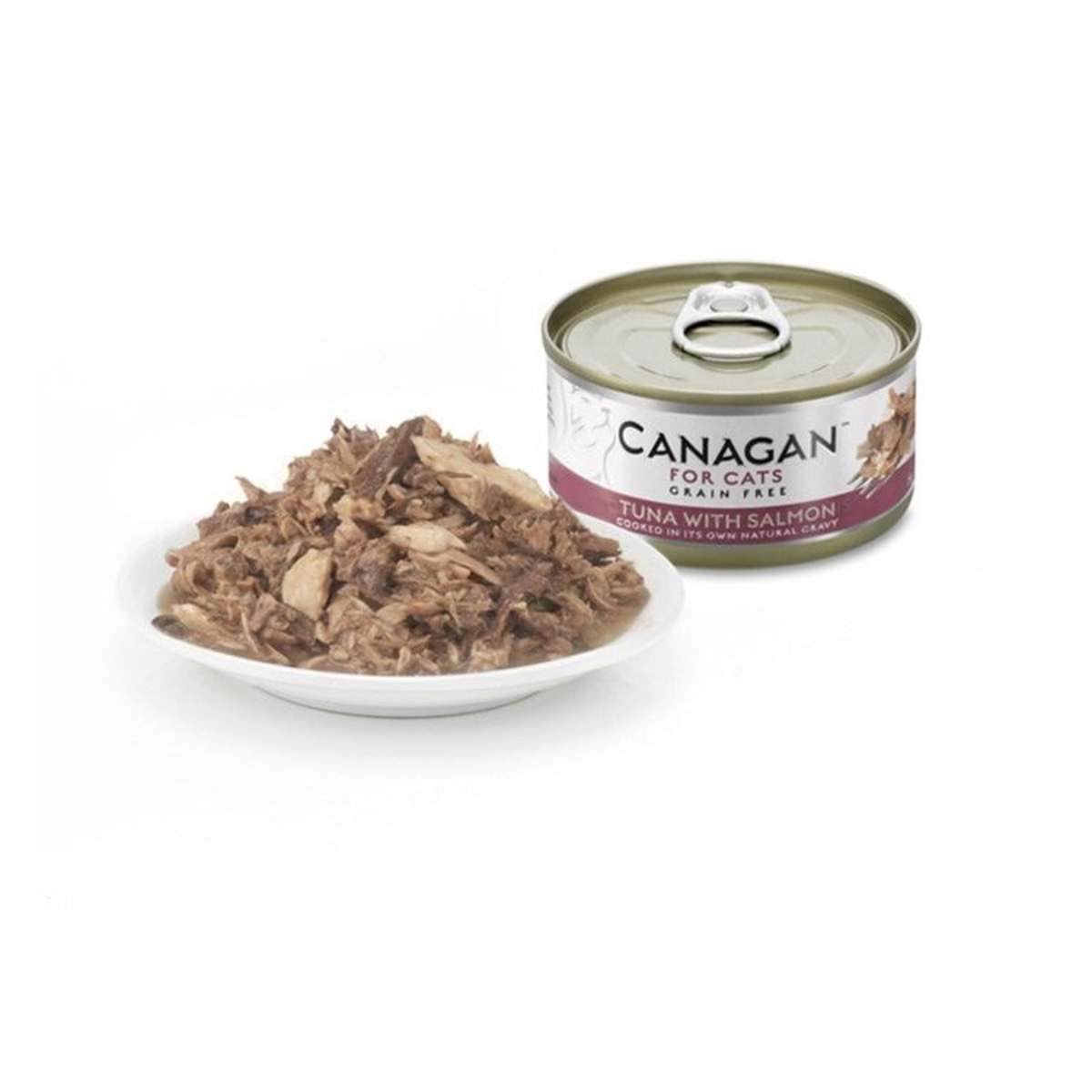gluten-free Canned tuna with salmon cat - 75g