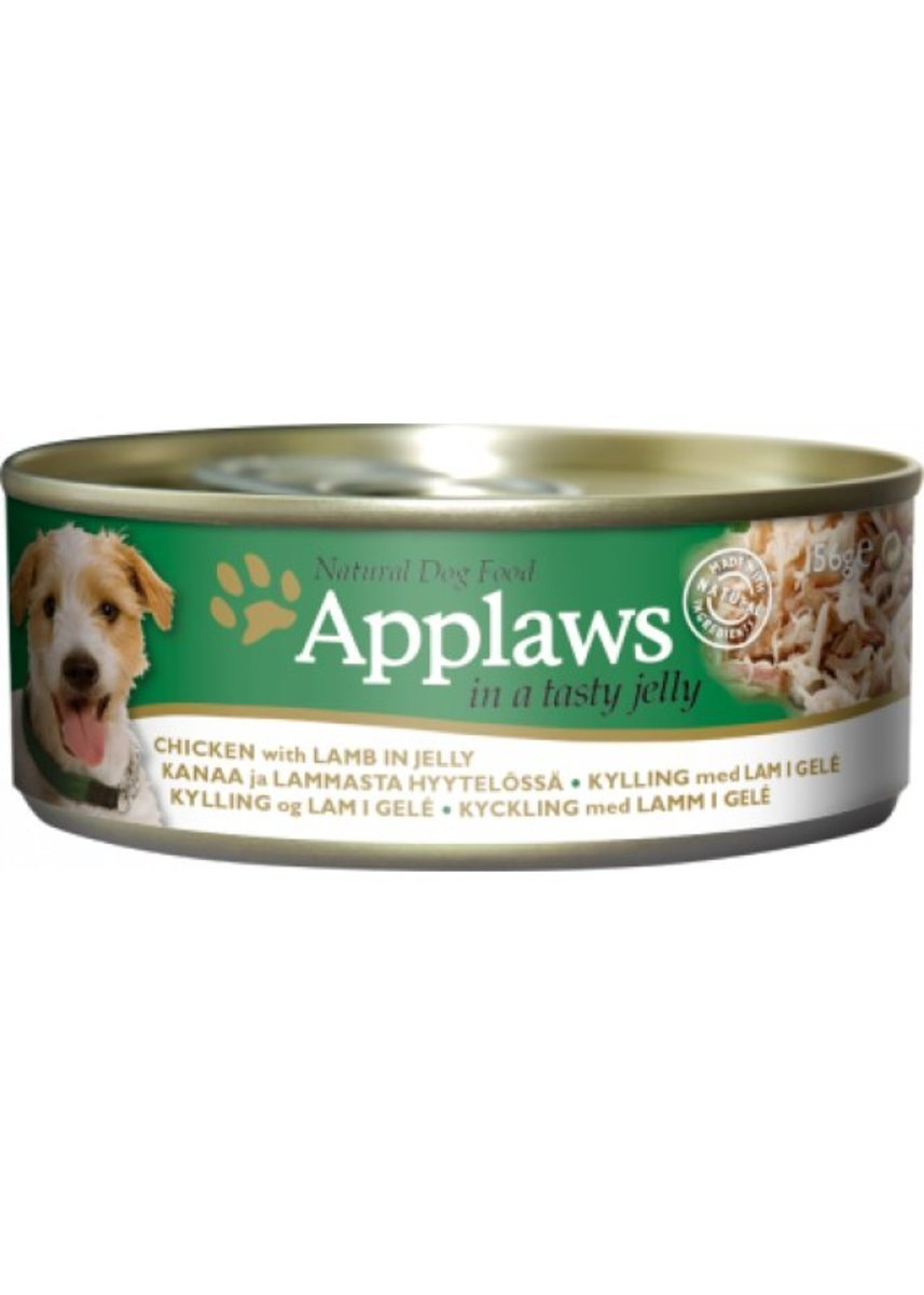 Dog Canned Chicken Lamb Jelly 156g [3122]