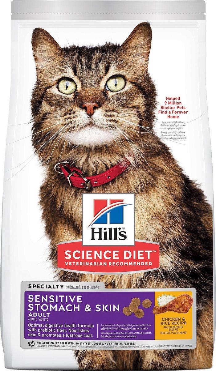 成貓胃部及皮膚敏感專用配方 7lb