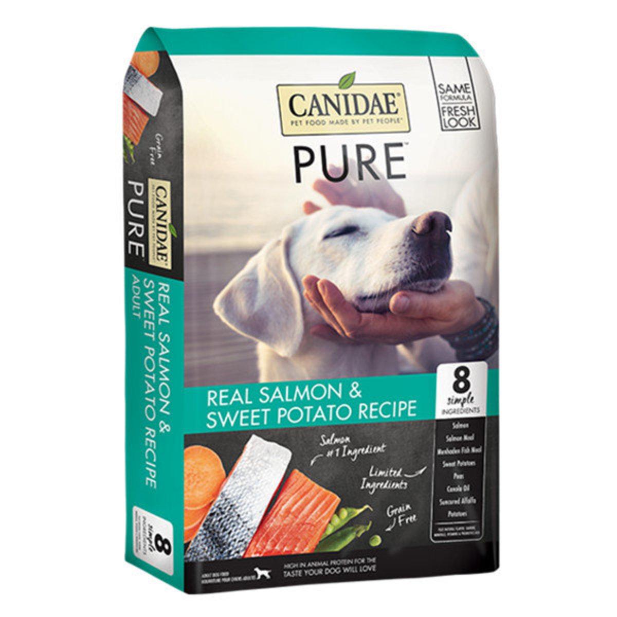 PURE Sea Gluten-free Marine formula salmon dry dog food 4lb [1348]