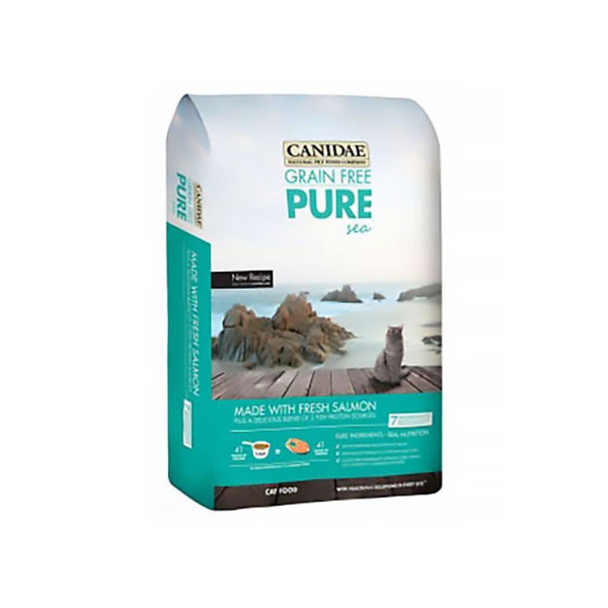 C-Pure Sea Gluten-free Marine formula Salmon whole cat food 5lb [exp:2020-06]
