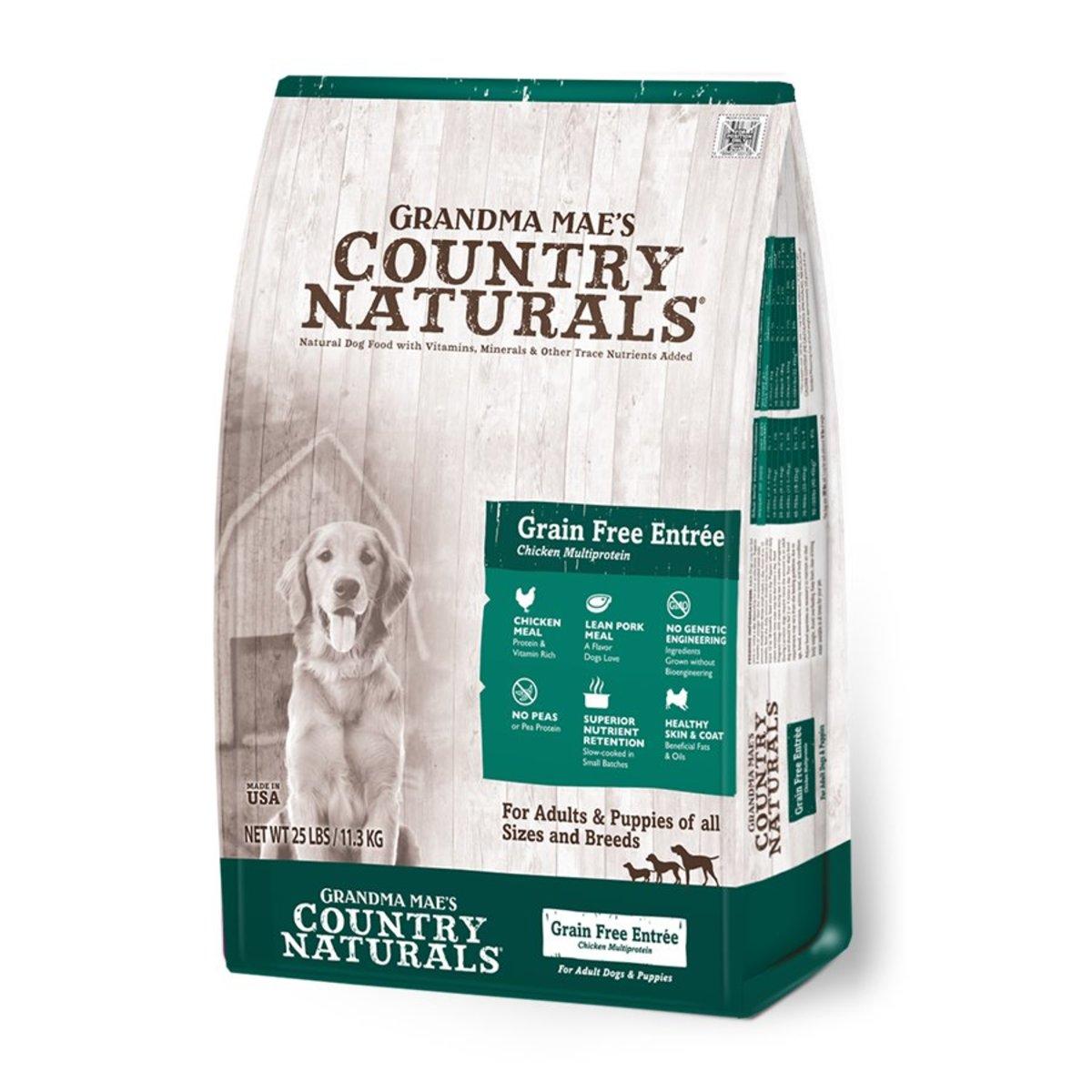全犬無穀物雞肉配方糧 25lb