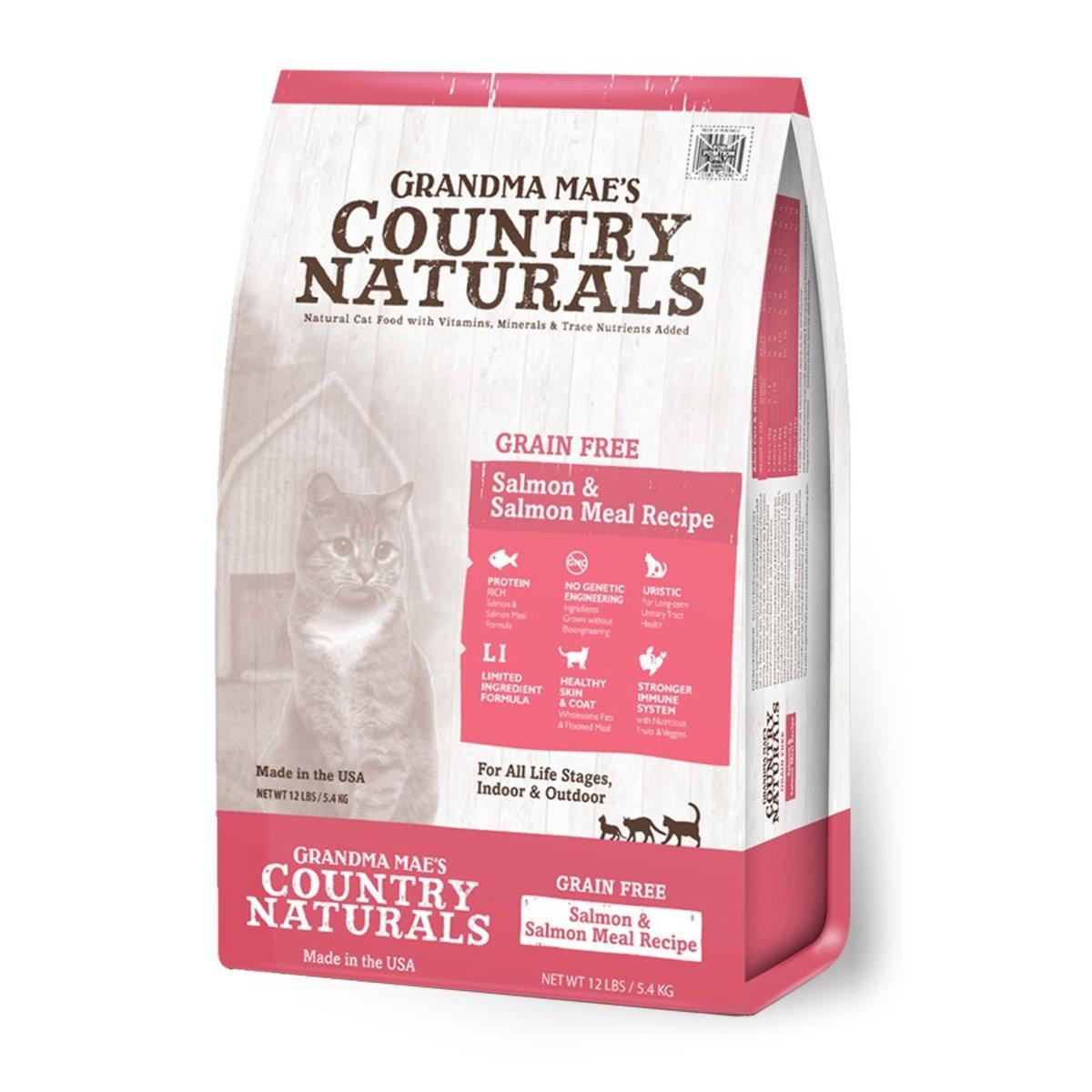 Grain free Salmon Low sensitivity All-Cat Recipe Dry Cat Food 12lb