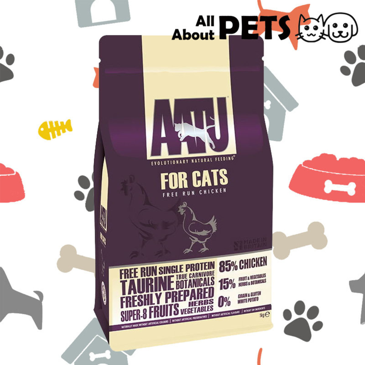 Cat Dry Food Anti-Allergic Stocking Chicken Natural 3KG