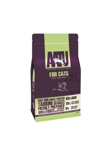 Cat Dry Food Anti-Allergic Stocking Duck Natural 3kg [112210]