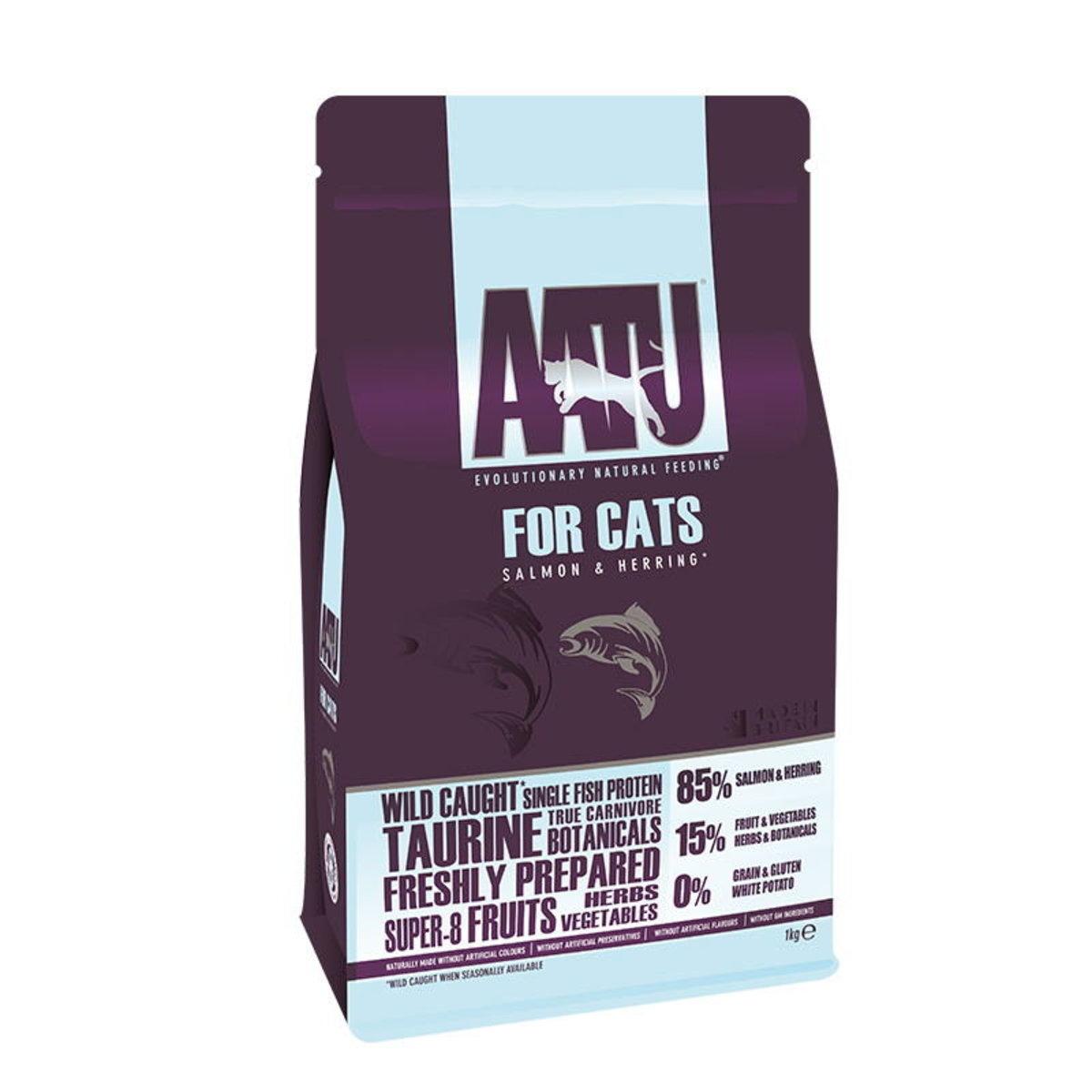 貓糧 天然防敏野生三文魚配方 1kg