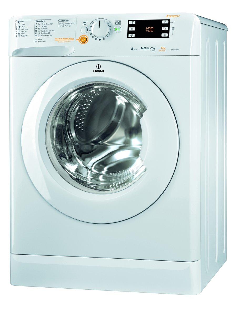 XWDE751480XWUK - (陳列品) 前置式洗衣乾衣機, 洗衣7公斤, 乾衣5公斤, 1400轉/分鐘