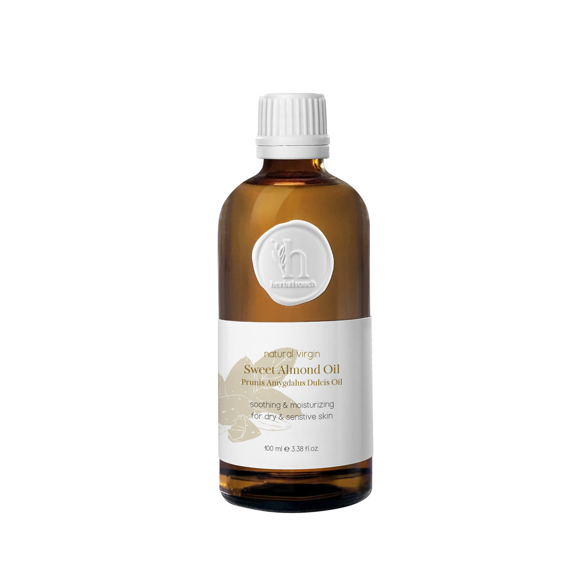 Natural Virgin Sweet Almond Oil  100ml