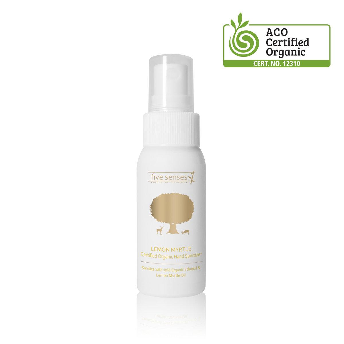 Lemon Myrtle Organic Hand Sanitizer  50ml