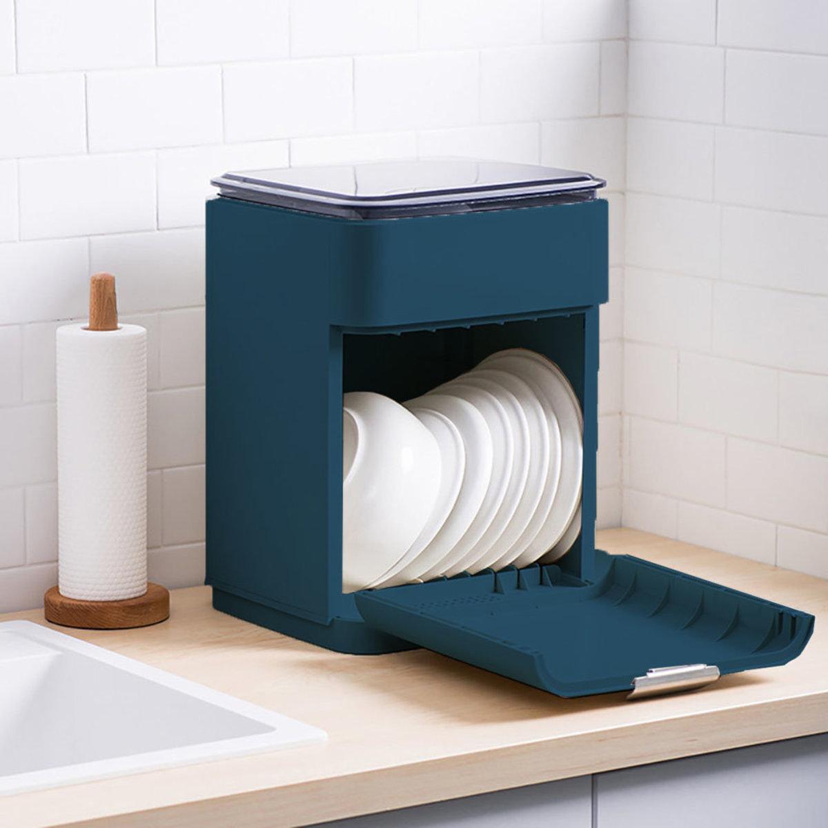餐具收納箱 - AA020 (深藍色)