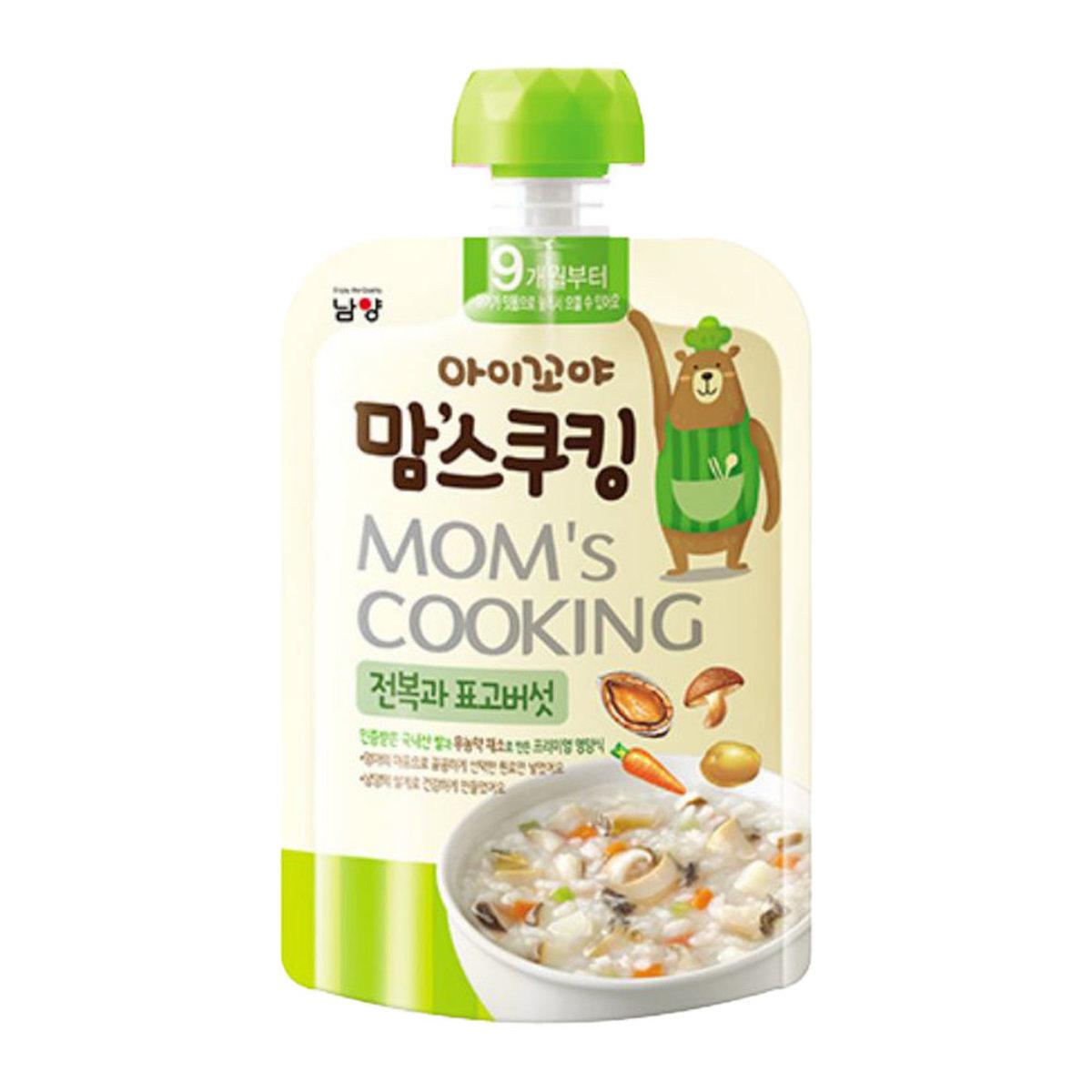 Mom's Cooking - Abalone & Mushroom Porridge