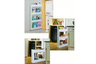 4 Tiers narrow organizer rack - HG1310304WH (White)